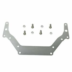 Transmission Adapter Plate For Chevy 1962 up Th350 Th400 Bop to Sliver New