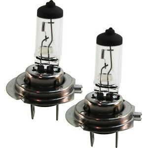 Set Of 2 Pieces Headlight Bulbs Hi Or Low Beam H7 Halogen Type