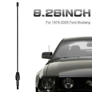 8 26 Billet Stealth Short Signal Antenna Mast For 1979 2009 Ford Mustang
