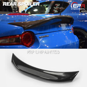 For Mazda Mx5 Miata Nd Rf Lms Style Carbon Duckbill Spoiler Locate In Us