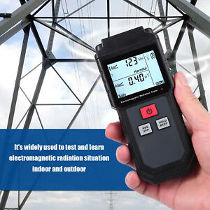 Lcd Electromagnetic Field Radiation Detector Emf Meter Anti Radiation Shield