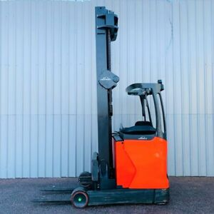 Linde R14hd Used Reach Forklift Truck 2928