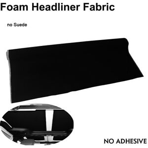 72 X 60 Gray Auto Headliner Fabric Sagging Replace Soft Smooth Polyester Knit