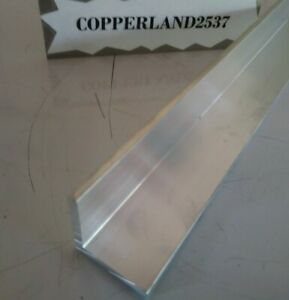 1 X 1 6063 Aluminum Angle 8 Long Mill Stock 1 8 Thick