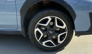 Subaru Crosstrek 18 Inch Original Factory Oem Alluminum Alloy Rims Wheels Tires