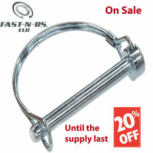 150 Pc 5 16 X 1 1 2 Round Snap Lock Pto Trailer Coupler Safety Pin Awning Towing
