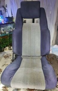 1982 To 1985 Second Generation Toyota Supra Oem Front And Rear Cloth Seats