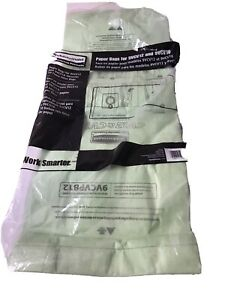 Rubbermaid Commercial Vacuum Replacement Bags 9vcvpb12 New In Package