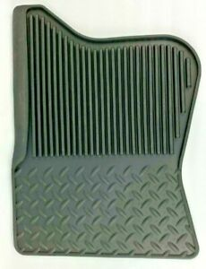 Gm Gmc Truck Rubber All Weather Floor Mats 4 Piece Set Front Rear New