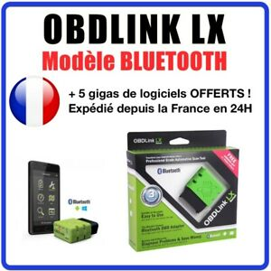Scantool Obdlink Lx Bluetooth Interface Wireless Compatible Android