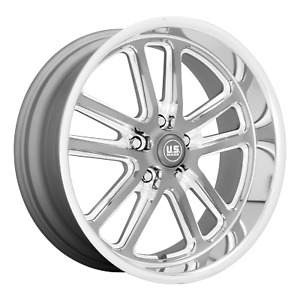 Us Mag 1pc Wheels Rim U130 Bullet 20x9 5 5x120 65 Et1 5 29bs 72 7cb Gray