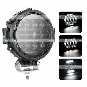 7 Inch Combo Round Off Road Drl Led Work Lights For Jeep Bumper Truck Boat 4wd