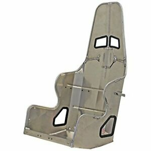 Kirkey Racing Farbrication Aluminum Seat 16in Oval Entry Level
