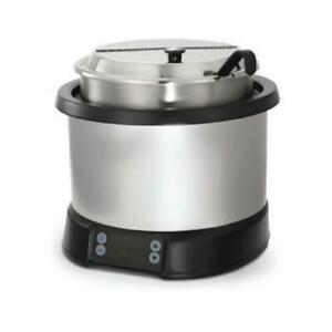 Vollrath 74110110 11 Qt Silver Induction Rethermalizer