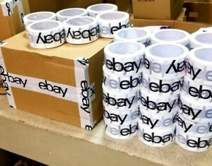 36 Rolls Official Ebay Brand Logo Packing Packaging Tape Shipping 2 X 75