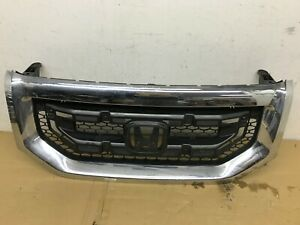 2009 2010 2011 Honda Pilot Front Grille Grill 75100 Sza A000 20 Oem
