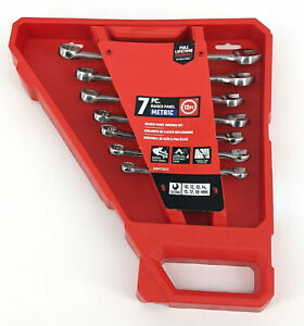 Craftsman 7 Piece 12 Point Metric Standard Combination Wrench Set