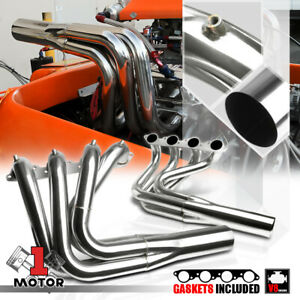 Ss Exhaust Header Manifold For Big Block Chevy V8 Bbc Water Injection Jet Boat