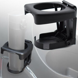 2x Auto Car Vehicle Universal Folding Beverage Pad Drink Cup Bottle Stand Holder