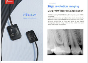 I Sensor Dental Digital X ray Size 2 Woodpecker With Remote Support Twain