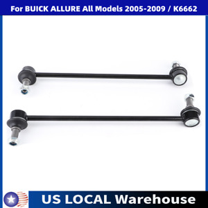 2pc Rear Sway Stabilizer Bar End Link Kit K6662 For Chevrolet Impala Monte Carlo