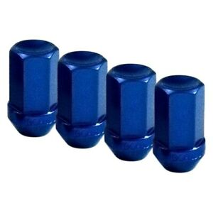 For Gmc S15 83 Blue Cone Seat Aluminum Racing Closed End Lug Nuts