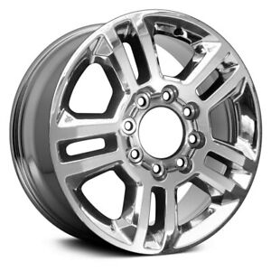 For Chevy Silverado 2500 Hd 15 17 Alloy Factory Wheel 5 Spoke Chrome 20x8 5