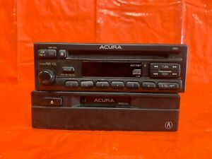 00 01 Acura Integra Am Fm Radio Stereo Cd Player W Tape Player Oem Factory