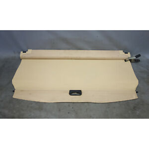 Damage 2004 2010 Bmw E83 X3 Sav Rear Trunk Boot Roller Cargo Privacy Cover Beige