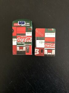 Coca-Cola Playing Cards  52 Plus 2 Jokers  French And English Printing