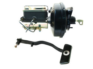 9 Power Brake Booster Conversion Kit For Ford Mustang 1967 70 Disc Drum Brakes