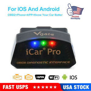 Vgate Icar Pro Wifi Adapter Obd2 Bimmercode Bmw Coding For Iphone Ios Android Us
