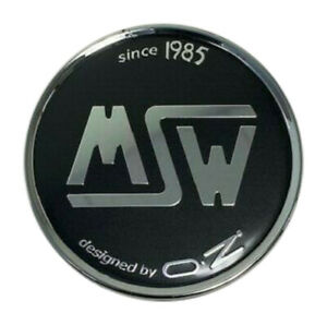 Msw By Oz C pcf 82 Custom Wheel Black Center Cap