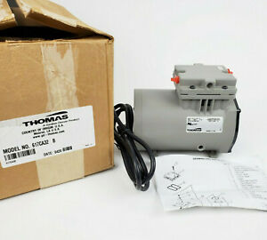Thomas 617ca32 B Piston Air Compressor 1 8hp 115vac 175 Psi New