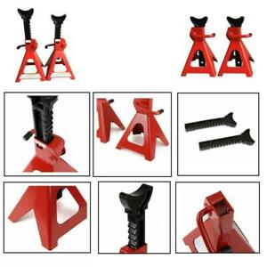 3 Ton Jack Stands Adjustable Height Auto Shop Safety Tool Car Truck 2 Jack Stand