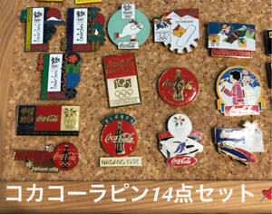 Nagano Olympic Games Coca Cola Pin Badge 1998 Bulk pins Collection