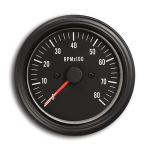 Taiwan Made 85 Mm Auto Electrical Tachometer 0 8000 Rpm