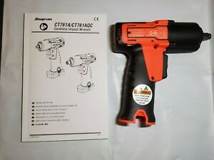 Snap On Tools 14 4v 3 8 Drive Microlithium Cordless Impact Wrench Orange Ct761ao