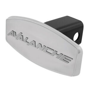 Dual Layer Stainless Steel Hitch Receiver Cover For Chevy Avalanche