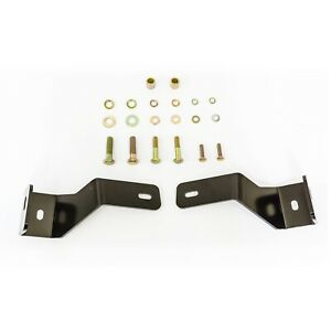Westin 30 1395 Safari Bull Bar Mount Kit Fits 07 12 Santa Fe