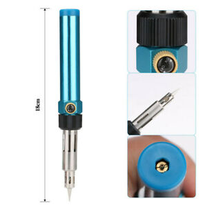 Gas Blow Torch Soldering iron Pen Refillable Butane Welding Solder Repair tools