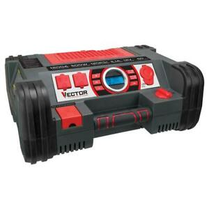 Vector 1200 Amp Jump Starter portable Power Station With Inverter