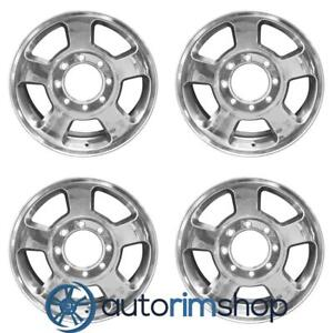 Dodge Ram 1500 2500 3500 17 Factory Oem Wheels Rims Set Polished 52013735aa