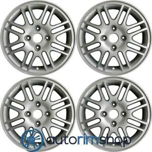 Ford Focus 2000 2011 15 Factory Oem Wheels Rims Set Silver Without Notch