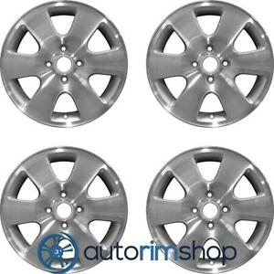 Ford Focus 2000 2003 16 Factory Oem Wheels Rims Set Machined With Silver