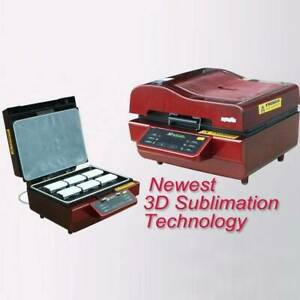1pc 3d Sublimation Heat Press Machine Transfer 220v For Phone Cases Mugs Cups