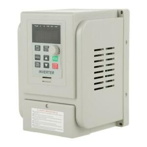 1 5kw 8a 2hp Vfd Single Phase Variable Frequency Drive Inverter Indtry