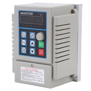220v 0 75kw Single Phase 3ph Variable Frequency Drive Vfd Controller