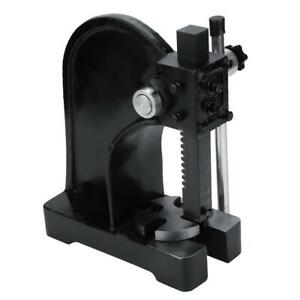 1 Ton Arbor Press Manual Punch Machine Install Bearings Joints Pins Assembly New