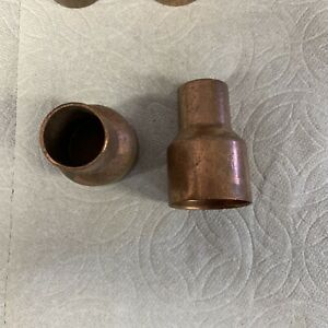 1 1 4 X 3 4 Coupling Reducer C X C Sweat Copper Pipe Fitting